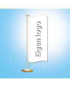 Tafelvlag 20x8 cm. lusje koord