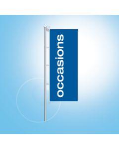 Banier OCCASIONS o.z. 120x300 cm.