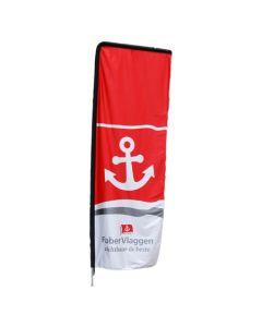 Beachflag 90x260 cm Urban (alleen doek)