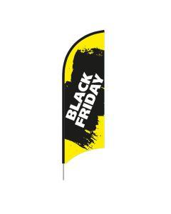 Beachflag Black Friday 70 x 190 cm