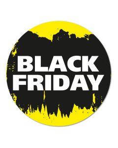 Black Friday raamsticker ⌀ 50 cm