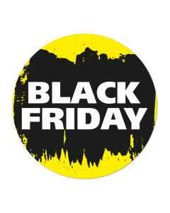 Black Friday vloercarpet rond