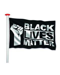 Black lives matter (BLM) vlag