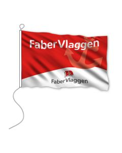 Bootvlag 50x75 cm. glanspolyester vlag