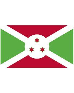 Vlag Burundi 150 x 250 glans