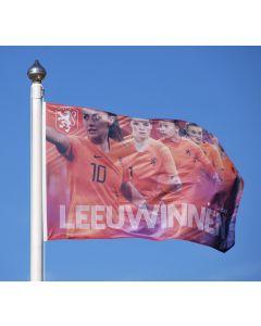 Vlag Oranje Leeuwinnen