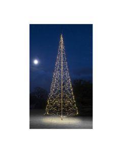 Fairybell 1200 Twinkle kerstmastverlichting voor 6 meter mast