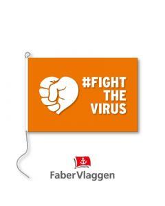 Vlag 100x150cm #FightTheVirus