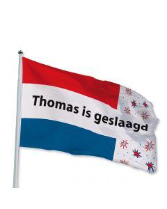 Geslaagd vlag 150 x 225 cm
