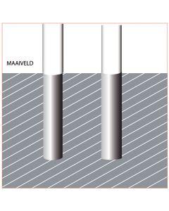 Grondbuis 110mm. tbv houten mast dia 100