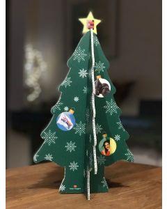 Kerstboom met eigen foto's