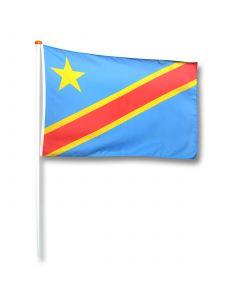 Vlag Congo (Kinshasa)