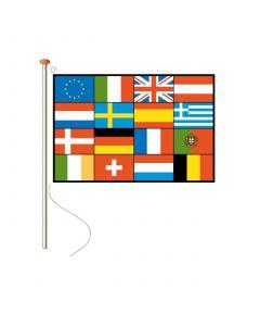 Meerlanden vlaggen zonder tekst 200 x 300 cm