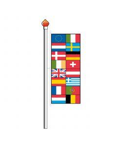 Meerlanden vlaggen zonder tekst 240 x 90 cm