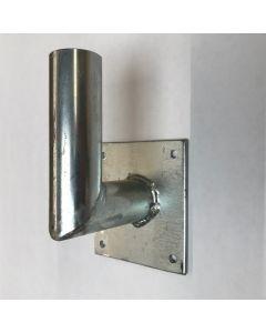 Vlaggenstokhouder 30 mm haaks