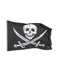 Vlag Piraat zwaard 100x150 cm