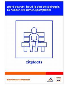 NOC*NSF Sportprotocol 'zitplaats'