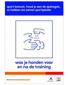 NOC*NSF Sportprotocol 'was je handen'