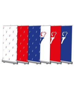 Roll-up-banner-vrijheid - 85x200cm