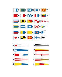 Seinset 40 vlaggen
