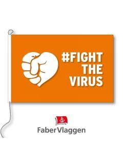 Vlag 150x225cm #FightTheVirus