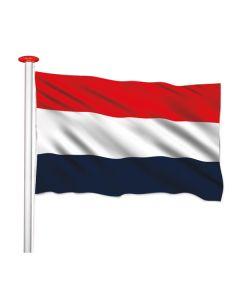 Vlag nederland donkerblauwe baan