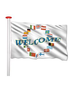 Welcome vlag