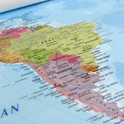Vlaggen Zuid-Amerika